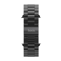 HOCO Metal Watchband 3 Pointers - стальной ремешок для Apple Watch 38мм (Gray)