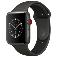Apple Watch Edition Series 3 38mm with Sport Band Black (Черный)
